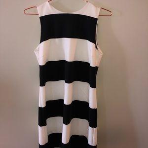 Preppy, striped dress